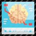 brain, computer, nervous, system, check
