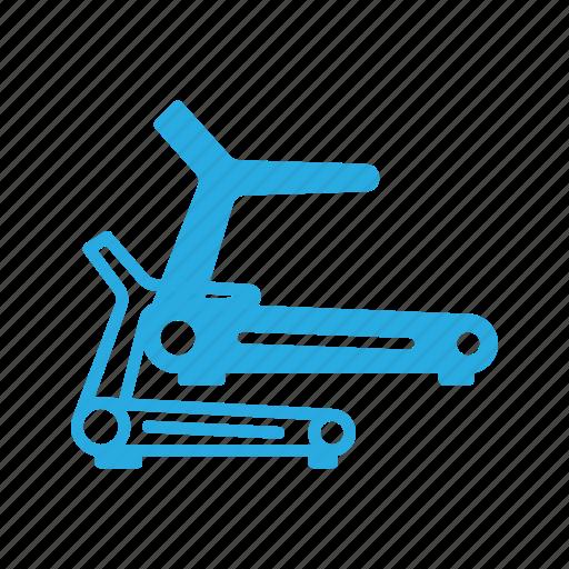 exercise, fitness, run, running, treadmill icon