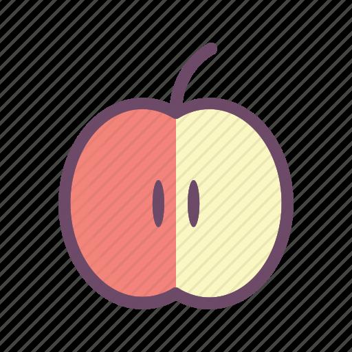 apple, eat, food, fruit, healthy icon