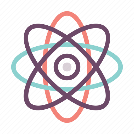 atom, atomic, electricity, energy, molecule, research icon