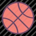 dribbble, basketball, ball, sports, play