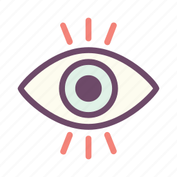 eye, look, visible, vision, watch, wisdom icon