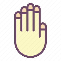 finger, fingers, gestures, hand, touch icon