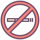cigarette, health, no smoking, smoking, warning icon