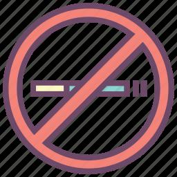 cigarette, health, no smoking, smoking, warning icon