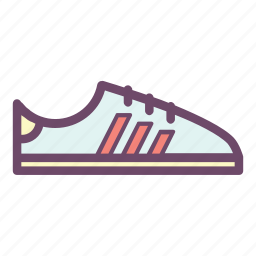 jog, run, runner, running, shoe, sneaker icon