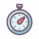 alarm, clock, stopwatch, timepiece, timer, watch icon