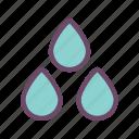 water, drops, rain, weather, storm