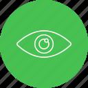 eye, eyeball, eyes, optometrist, optometry icon