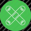 aid, band, bandage, bandaid, injury, patch icon