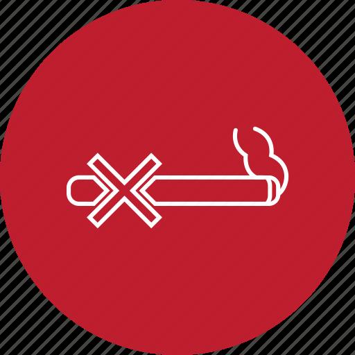 ban, cigarette, forbidden, no, smoking icon