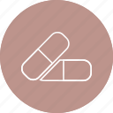 drug, medications, medicines, pills icon