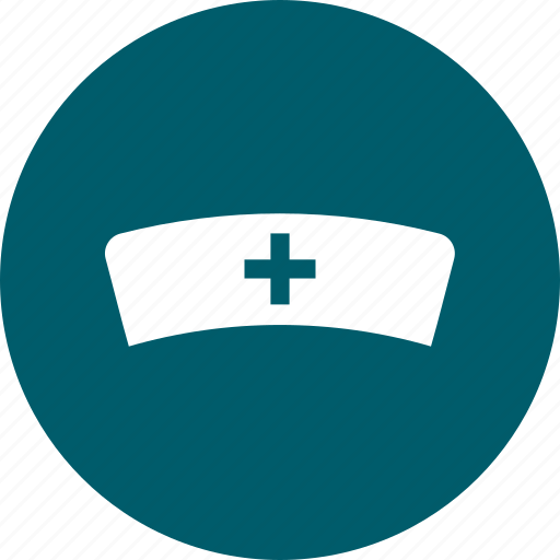 hat, hospital, nurse icon