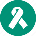 bow, environment, hospital, protection, ribbon icon