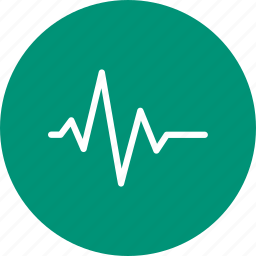 heart, heart rate, heartbeat, hospital icon