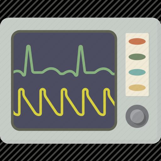 Ecg, ekg, medical, monitor, pulse icon - Download on Iconfinder