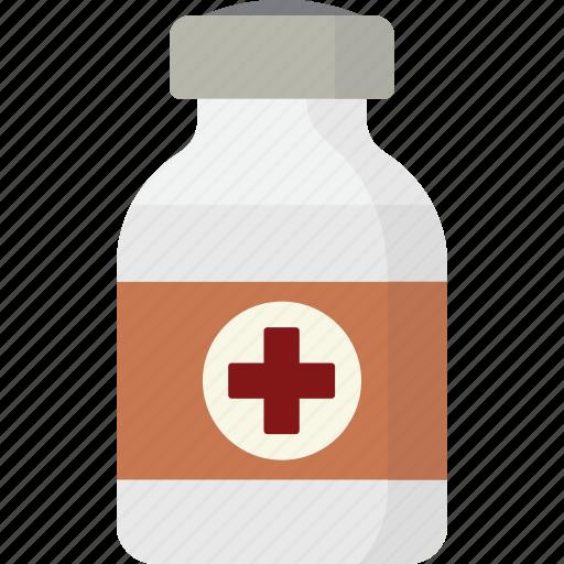 bottle, health, medicine icon