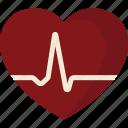 ekg, heart, monitor, rate icon
