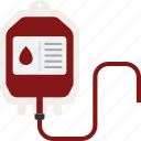 bag, blood, transfusion icon