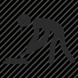 awkward, exercise, posture, workout icon