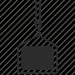 lift, lifting, plan icon
