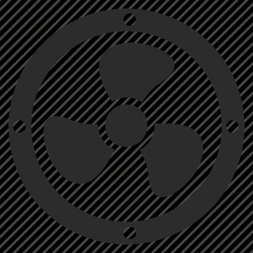 cooler, ventilation icon