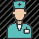 avatar, health, healthcare, male, medical, nurse
