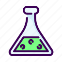 chemistry, lab, laboratory, medical, research, science, test icon
