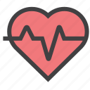 care, health, heart, organ icon