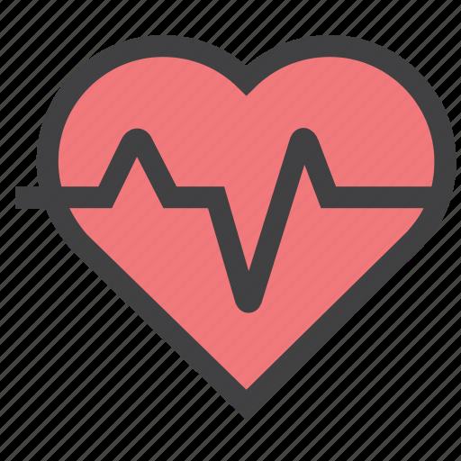 care, health, heart, organ icon