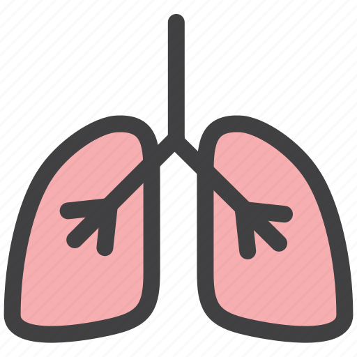 body, care, health, lungs icon
