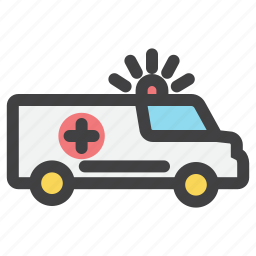 emergency, first, help, medical, transport icon