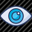 eye, eye treatment, eyesight, medical, ophthalmology, optometry, view icon