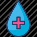 blood, blood bank, blood donation, drop, medical, transfusion icon