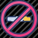 no smoking, quit smoking, prohibited, cigarette, healthcare, smoke, sign icon
