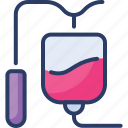 bag, blood, hospital, human, infusion, medical, transfusion icon