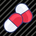 capsules, pharmacy, pills icon