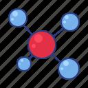 chemistry, formula, molecules icon