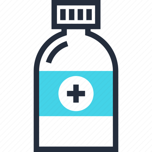 bottle, container, drug, healthcare, medicine, pharmacy, treatment icon