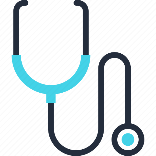 Diagnosis, equipment, instrument, medicine, stethoscope, test icon - Download on Iconfinder
