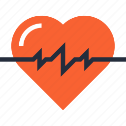 beat, cardiology, healthcare, heart, medicine, pulse, rate icon