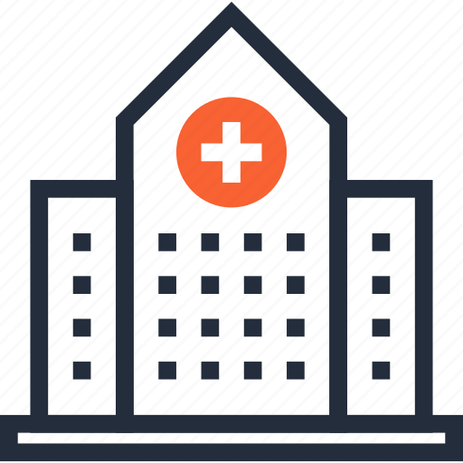 Ambulance, building, clinic, construction, emergency, hospital, medicine icon - Download on Iconfinder