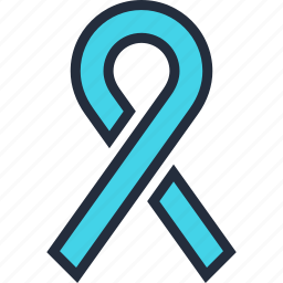 awareness, breast, cancer, health, healthcare, medicine, ribbon icon
