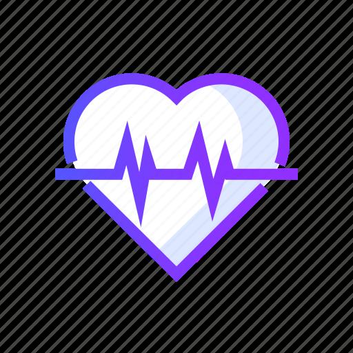 cardiogram, heartbeat, medical, medicine, pulse icon