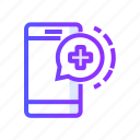 health, healthcare, healthy, m, medicine icon