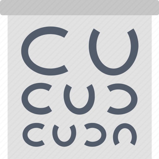 Eye, test, examine, health, healthcare, ophthalmologist, vision icon - Download on Iconfinder