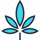 cannabis, drug, hemp, leaf, medical, natural, plant icon