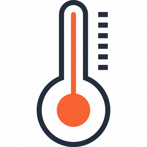 cold, diagnostic, equipment, hot, medical, temperature, thermometer icon