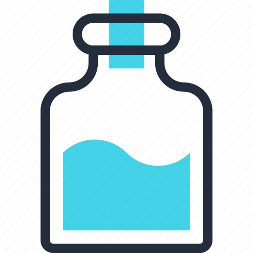 bottle, drug, flask, medicine, mixture, potion, treatment icon