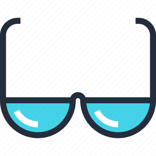 eye, eyewear, glasses, see, spectacles, view, vision icon